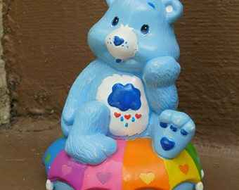 Care Bears Grumpy Bear figurine coin bank