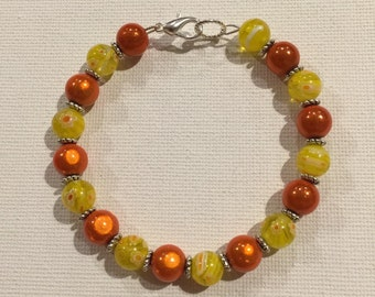 BRACELET yellow & ORANGE