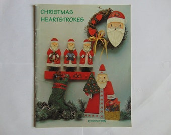 Christmas Heartstrokes Tole Painting by Donna Farley