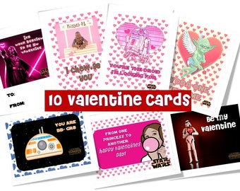 Star Wars  Valentine cards starwars