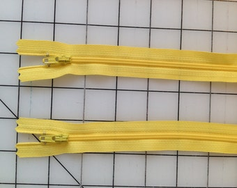 Dandelion Yellow 14in YKK Zipper - 2 pk