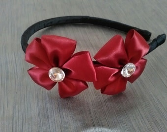 Red Headband , Girl Headband , Women Headband