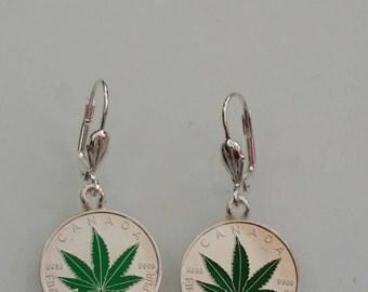 Fine silver earrings 1/10  oz