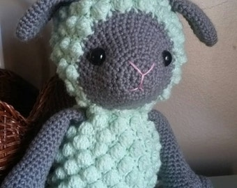 Little Sheep/Lamb/Crochet Amigurumi/ Stuffed Sheep