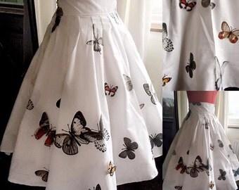 Butterfly Circle Skirt