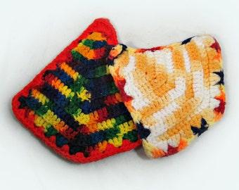 crochet hot pads handmade pot holder vintage potholders crochet pot holder kitchen