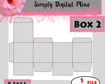 YOU Design!!! Box 2  Templates!!