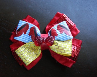 Ruby Shoes Hairbow