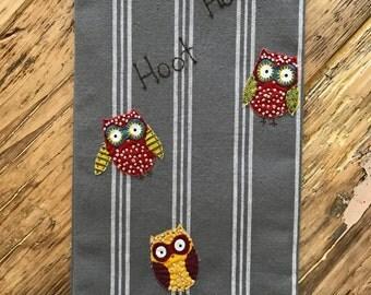 Its a Hoot Tea towel