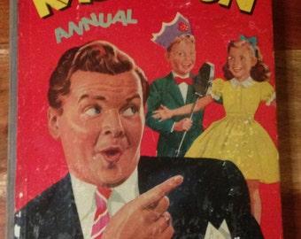1958 Radio Fun Annual - Benny Hill cover in good condition