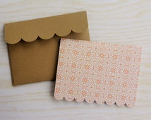 note card with envelope - 6 notecards and 6 envelopes - Fall Inspired - Fall Gift Tags - Autumn theme - Thank you note