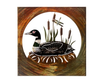 Metal Wall Art Loon Home Decor