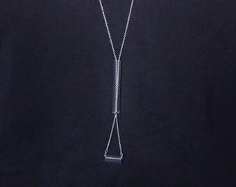 LONG TIE, jewellery, jewelry, necklace, statement necklace, statement jewelry, designer jewelry, unique necklace, unique jewelry, acrylic