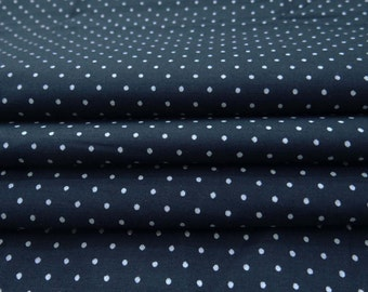 Indian Decorative Cotton Denim Crafting Fabric For Dressmaking Sewing Material Indian Blue Color Carfting Fabric By 1 Yard ZBC8263A