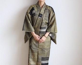 Japanese Kimono, kimono dress, Japanese dress, stage costume, cosplay, glitter kimono /499