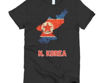 The North Korea Flag (women)