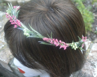Berry Branch Flower Crown  CLEARANCE