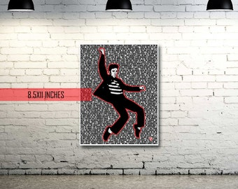 Elvis Presley | Jailhouse Rock | Lyrics | Pop Art
