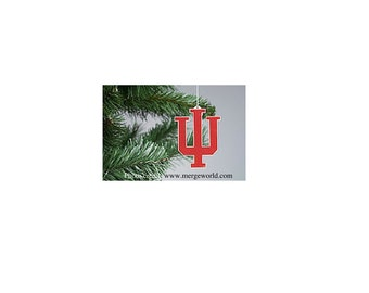 IU Trident Christmas Ornament
