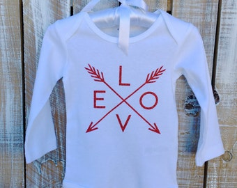 Love with Arrows Onesie