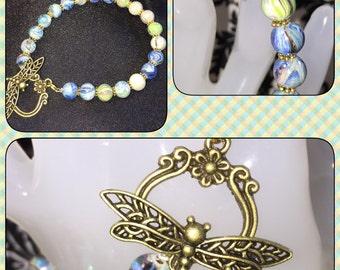 Dragonfly Clasp Bracelet