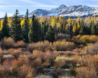 Rocky Mountain Fall - San Juan Range - Colorado Photography