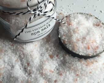 Spa Salts, Bath Salts, Mediterranean Sea Salts
