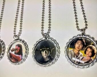 Comic Book Necklaces / Geek Gifts / Geek Wedding Favors