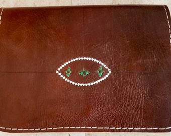 Handmade  leather Vintage style ,Brown handbag/ shoulder bag/crossbody bag