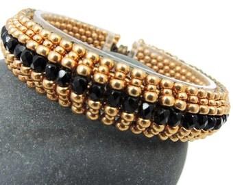 Copper & Black bracelet