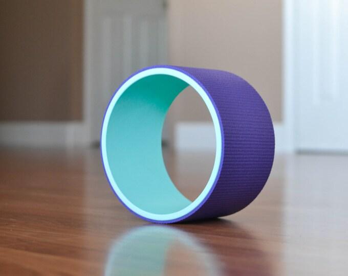 """8"""" Yoga Wheel- Teal&Purple"""