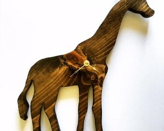 Handcrafted Custom 10X15 Giraffe