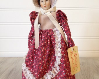 Russ porcelain doll #1640