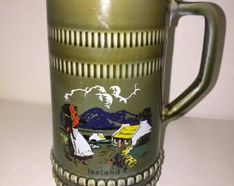 Vintage Irish Beer  Stein 1970
