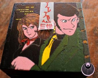 Wood box Lupin