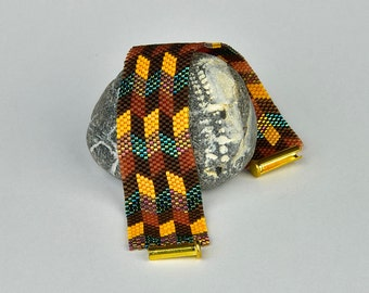 Peyote - bracelet with Rhombuses