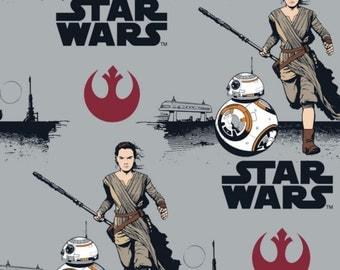 FLEECE Star Wars The Force Awakens Fabric