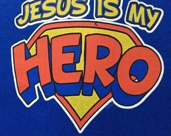 Jesus, Super Hero, Religious, Tshirts