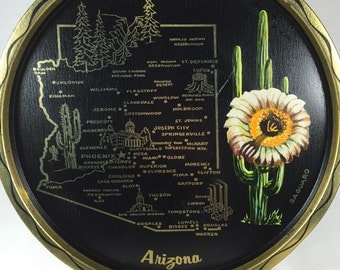 Arizona Souvenir Tray