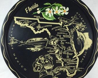 Florida Souvenir Tray