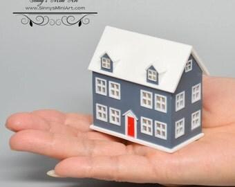 1:144 Dollhouse Northeast Dollhouse/ Dollhouse Miniatures  AZ D3109