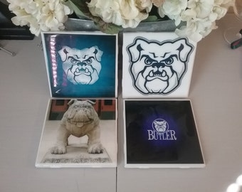 Butler Bulldogs coaster set