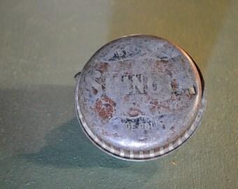 Shinola Shoe Tin, Shinola Polish, Shoe Polish Tin, Vintage Shoe Tin, #295