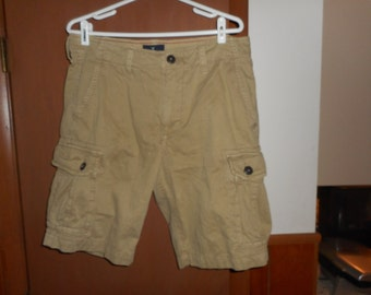 Vintage Men's American Eagle Outfitters Classic Cargo Shorts 33w E2
