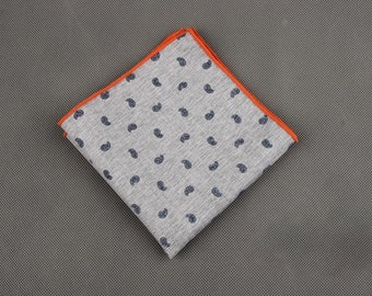 Wing Print Pocket Square