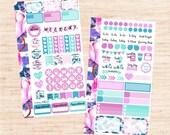 Duchess PERSONAL Set (matte planner sticker, Filofax, Kikki K, Websters Pages, Color Crush)