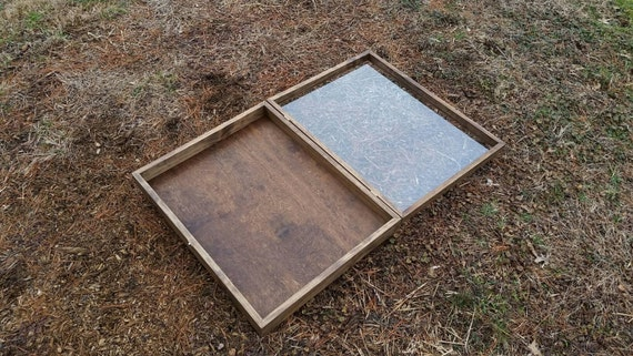Extra Large Size Wooden Shadow Box Display By