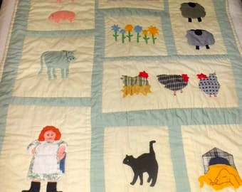 HANDCRAFTED BABY QUILT