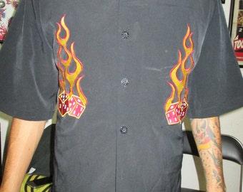 Retro rockabilly shirt for men
