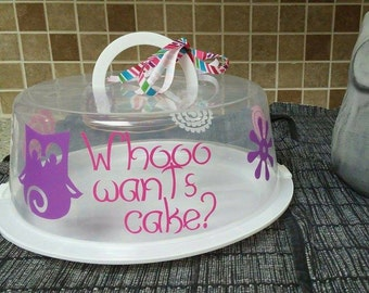 Cake Carrier (Whooo want's cake?)